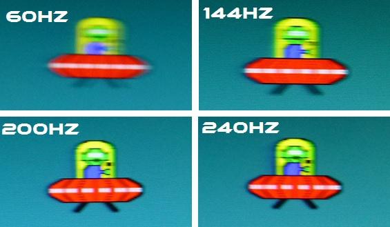 240hz vs 144hz vs