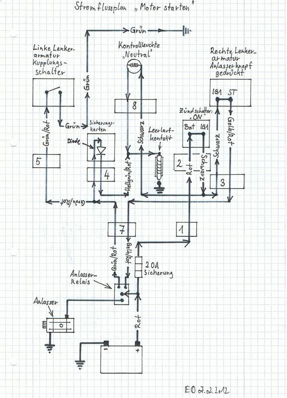 Schaltplan Cx 500