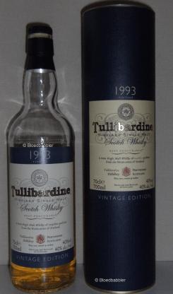 Tullibardine 1993 Vintage Flasche