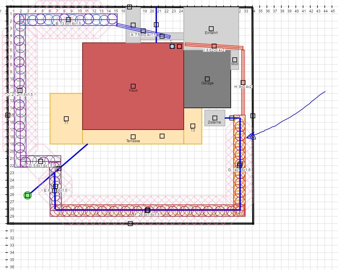 Grabenkollektorprojekt (Efh; Neubau; Mittelhessen; Ldk