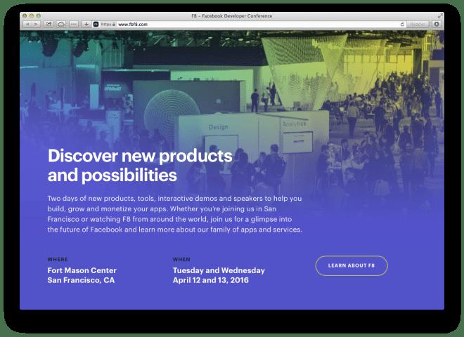 f8 gradients web design