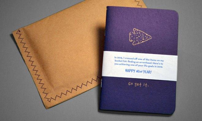 hand sewn envelope