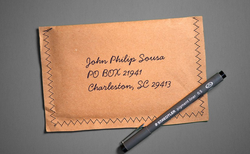 pen and envelope