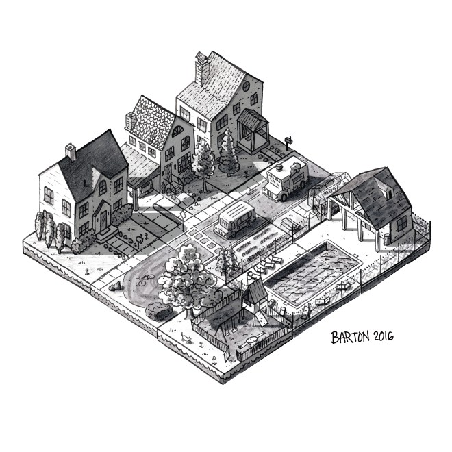 neighborhood isometric