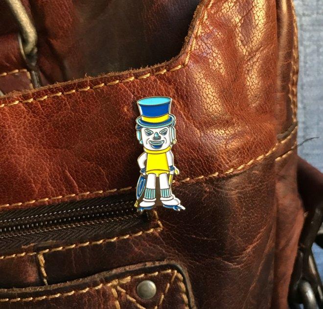 hatman lapel pin