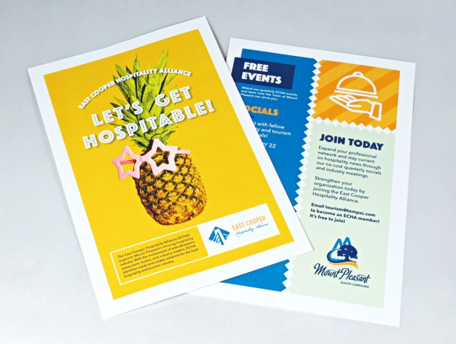 mount pleasant echa flyer design