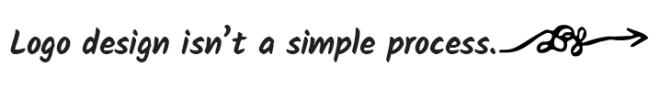 logo design isn't a simple process