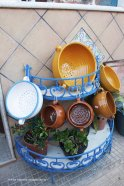 The traditional pots to make cous cous Cous cous Fest at San Vito Lo Capo Sicily