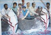 La Mattanza- The tuna slaughter in Museo delle Arti Marinare alla Riserva dello Zingaro