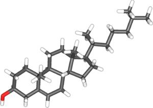 300px-Cholesterol-3d
