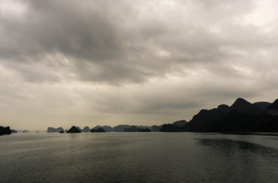 We took the route that goes around the back of Cat Ba so we were alone for a major part of our journey. Which was really nice.
