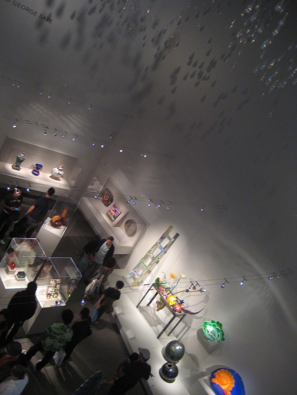 De Young Gallery Ariel View