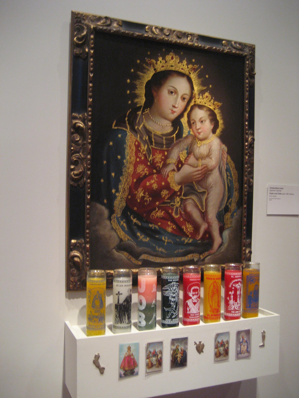 De Young Madonna and Child Shrine