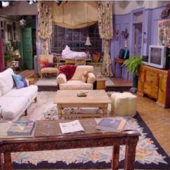 Friends Sofa Replica Ethan Allen Bennett Reviews Les Plans Des Appartements Séries Tv | A Blog Pourpoint