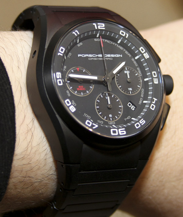 Porsche Design P'6620 Dashboard Chronograph Watch Handson