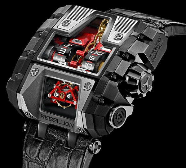 Rebellion T1000 Gotham Watch  Ablogtowatch