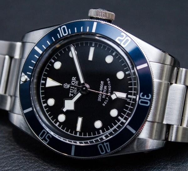 "2014 Tudor Heritage Black Bay ""Blue"" 79220B Watch Hands-On ..."