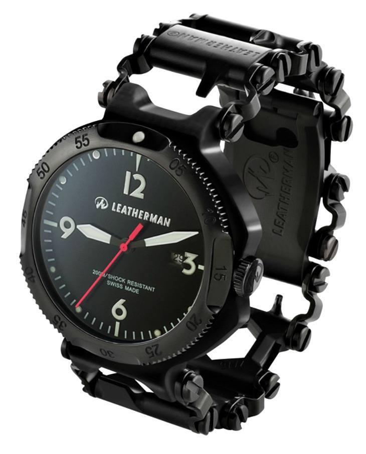 Leatherman Tread Watch With Tool Bracelet  Ablogtowatch