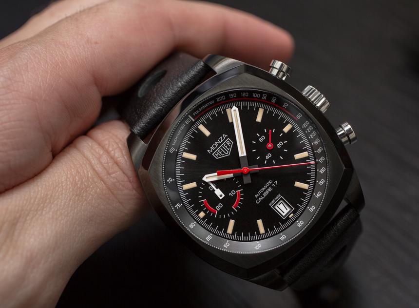 TAG Heuer Monza Watch Reissue Hands-On
