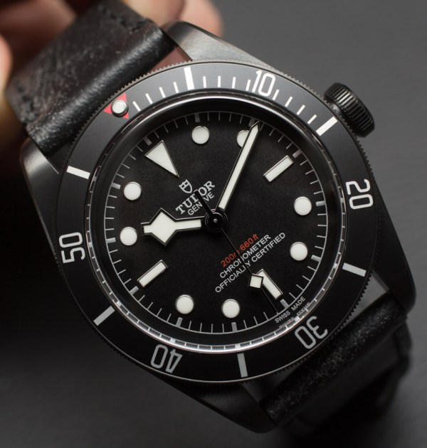 Tudor Heritage Black Bay Dark Watch Hands-On | aBlogtoWatch