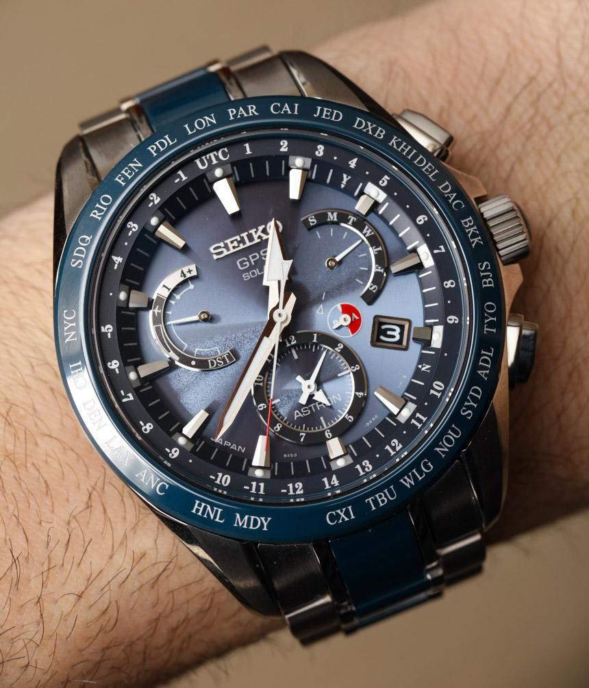 Seiko Astron Gps Solar Dual Time Watch Review  Ablogtowatch
