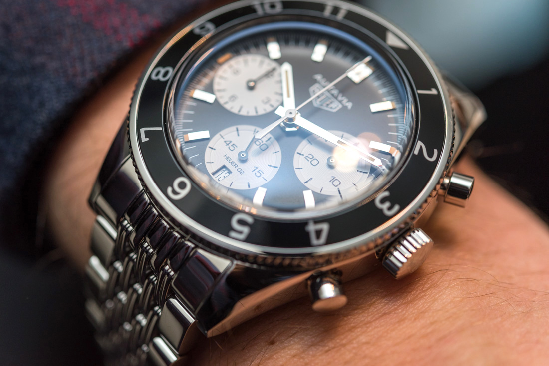 TAG Heuer Autavia Heuer 02 Watch Hands-On