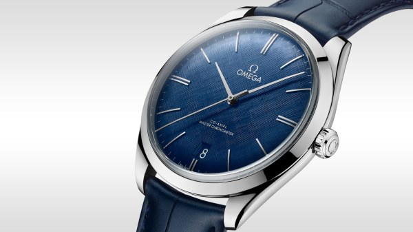 Omega De Ville Trsor 40mm Watches In Stainless Steel