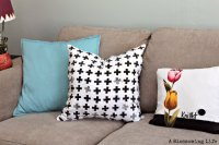 DIY Homemade Stamps and Hand Stamped Pillows - A ...