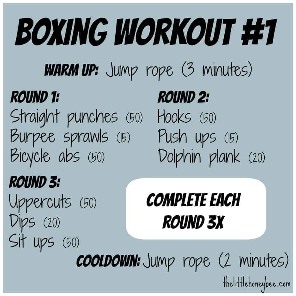boxing home cardio workout