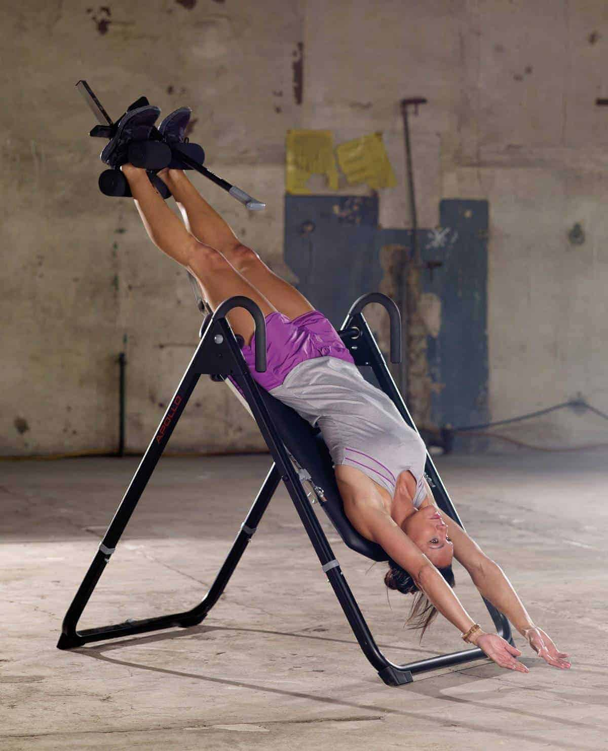 hanging upside down chair for back reclining padded beach with footrest best inversion tables pain 2019 and how this