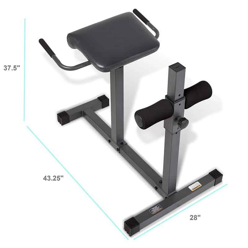 diy roman chair vanity chairs target best 9 hyperextension benches 2018 buying guide marcy the buy under 100