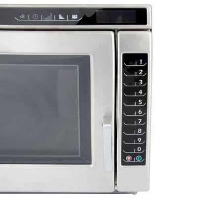 amana rc17s2 heavy duty commercial microwave oven abm food