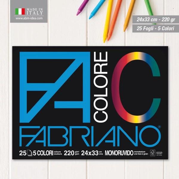 ALBUM FA/COLORE BL.24X33 25FF 65251524