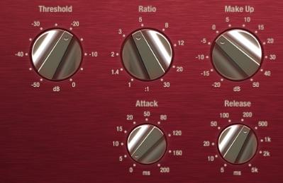 Den Kompressor für Bass einstellen