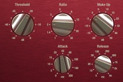 Den Kompressor für Akustik Gitarre einstellen