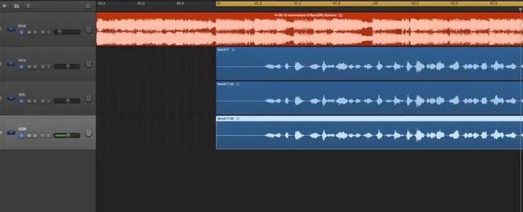 Vocals doppeln und fett abmsichen
