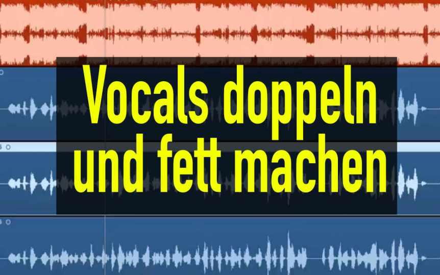 Rap Vocals doppeln