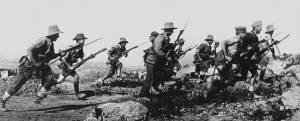 Australian Troops Land At Gallipoli