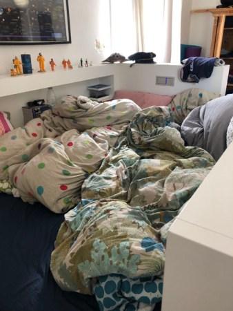 Chaos im Teeniezimmer