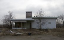 Abandoned Gas Station in Dayton Ohio