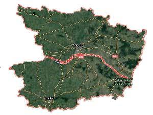 Plan du Maine et Loire