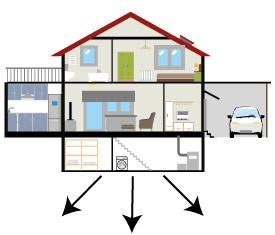 Illustration d'une maison