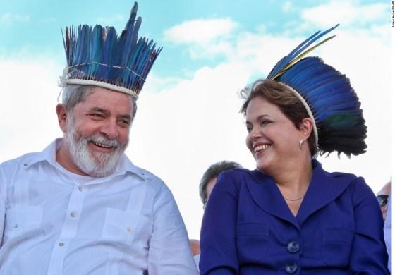 Dilma Rousseff, Lula da Silva e a Maldição do Cocar