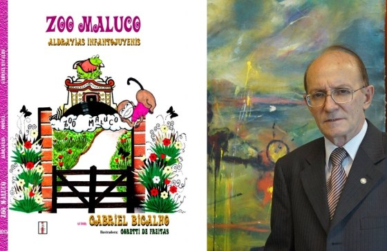 Gabriel Bicalho lança Zoo Maluco no 14º Circuito de Literatura do Clesi