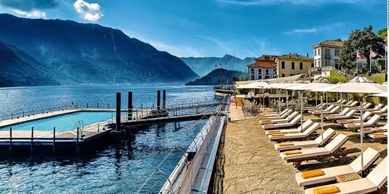 Grand Hotel Tremezzo Lago di Como na Itália