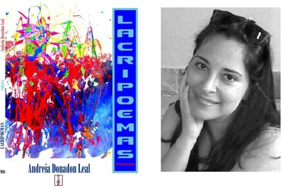 Livro Lagripoemas de Andreia Donadon Leal
