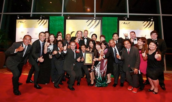 The jubilant Kuala Lumpur Convention Centre team shows