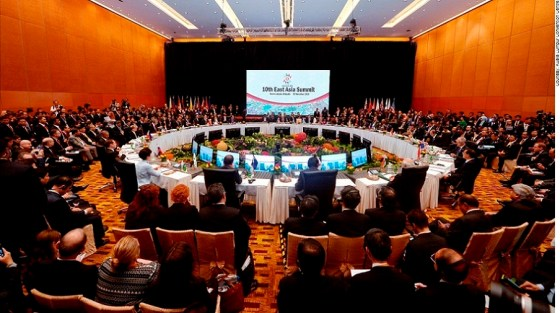 Heads of State and Government of the 10 ASEAN member nations during the 27th ASEAN Summit and Related Summits held at the Kuala Lumpur Convention Centre
