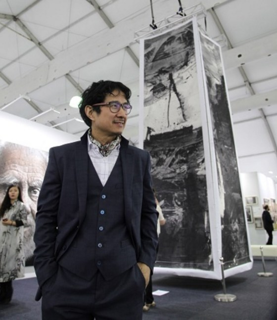 Lan Zhenghui  at Art Central Hong Kong