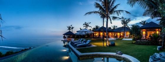 Semara Luxury Villa Resort Uluwatu. - Night